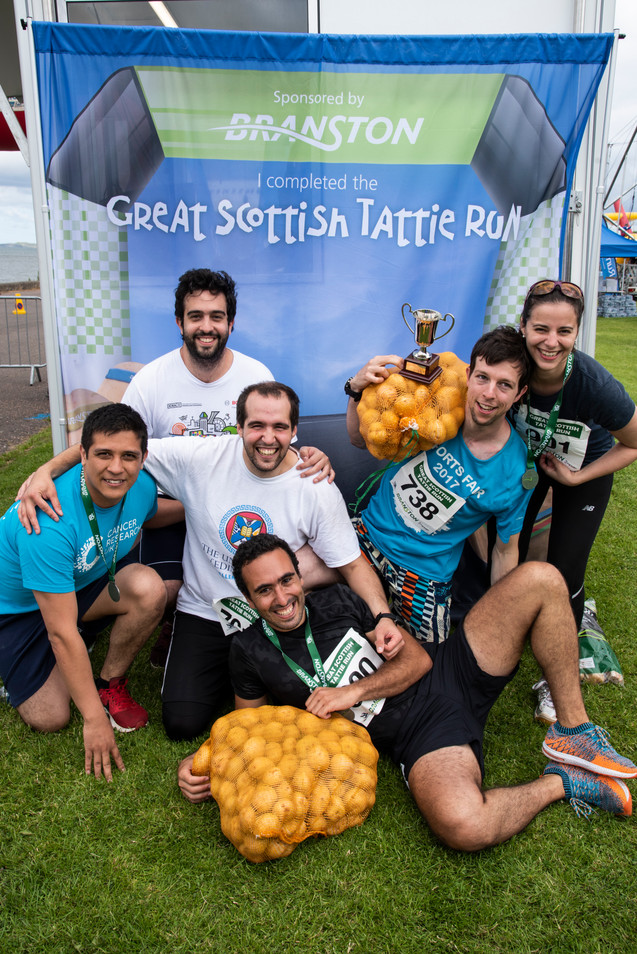 2019 Scottish Tattie Run + Chairty Races