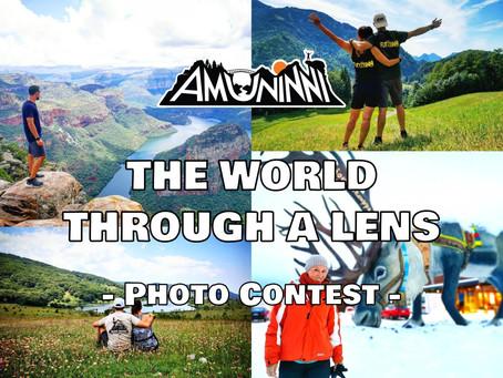 THE WORLD THROUGH A LENS - Photo Contest