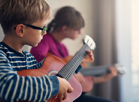 Do your young students practice their guitar?