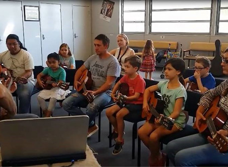 Kids' Guitar Groups: How Parental Involement Benefits the Young Guitarist.