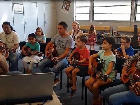 Kids' Guitar Groups: How Parental Involement Benefits the Young Guitarist.