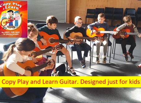 Kids love Copy, Play and Learn Guitar. Lesson + Tutorial number 26. Designed just for them.