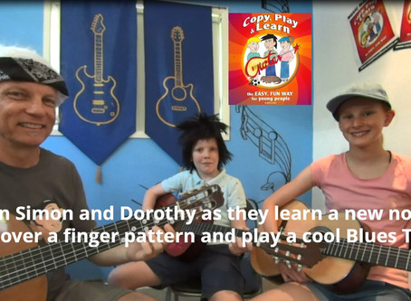 Free Guitar Lessons for Kids | Lesson 12 | Copy Play and Learn Guitar