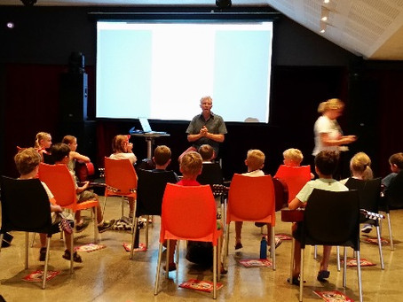 Copy Play and Learn Guitar features at children's guitar workshop and ASME conference.