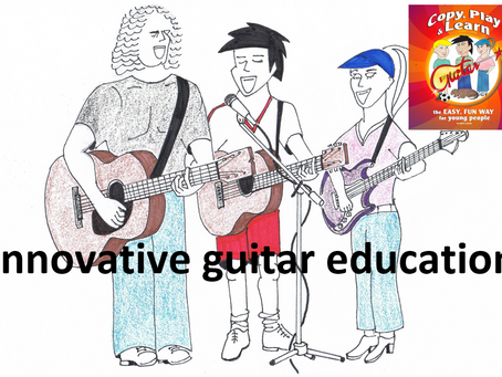 Bringing guitar tuition for young beginners into the 21st Century.