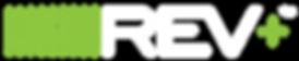REV+ Logo with battery bars