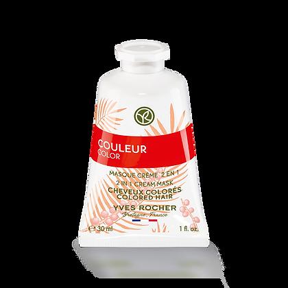 Mini Masque Couleur Crème 2en1 - 30 ml