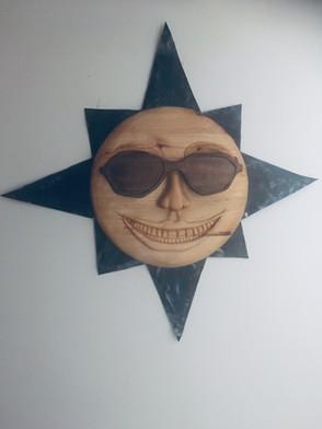 Gangster slunce - lípa a ořešák - ruční