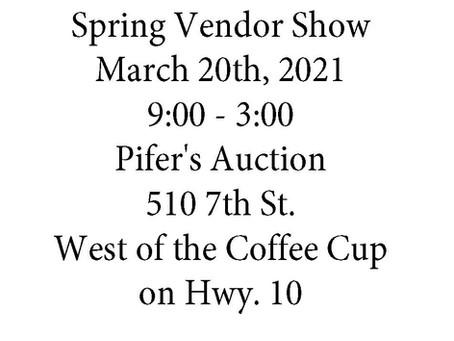 Steele Area Betterment 1st Annual Spring Vendor Show