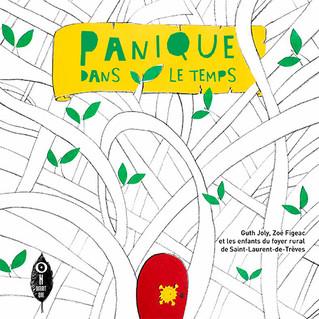 """""""Panique dans le temps"""", un livre réalisé avec les enfants de St-Laurent-de-Trèves"""