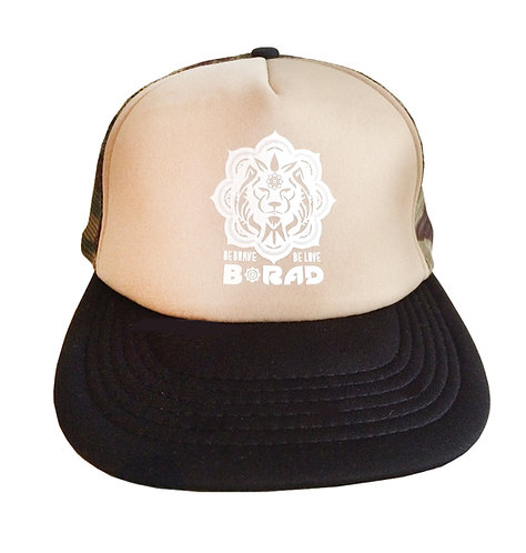 Lion Trucker Hat - Camo