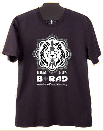 Lion Black Tshirt - Mens
