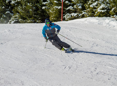 Back on my skis !