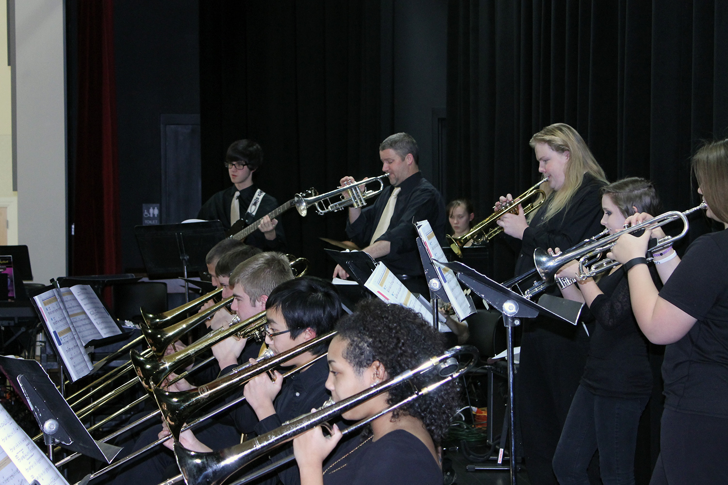 South Caldwell High School Band