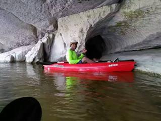 Kayaking the Sibun River