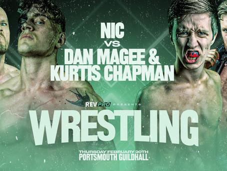 Feb 20th - Portsmouth - Double Tag-team Match-up Announced - Portsmouth Guildhall