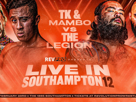 Feb 23rd - The 1865 - TK COOPER & CHUCK MAMBO vs THE LEGION - Live in Southampton 12