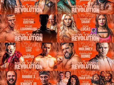 Guildford - New Years Revolution Show Online To Watch - 10th January