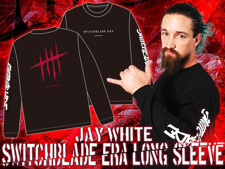 NEW MERCHANDISE STOCK! - BULLET CLUB, LIJ, MOXLEY AND JAY WHITE