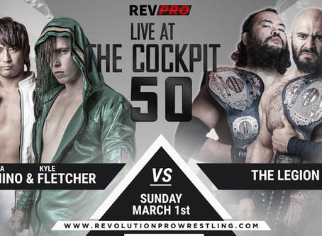 March 1st - London - SHOTA UMINO & KYLE FLETCHER vs THE LEGION - Cockpt Theatre