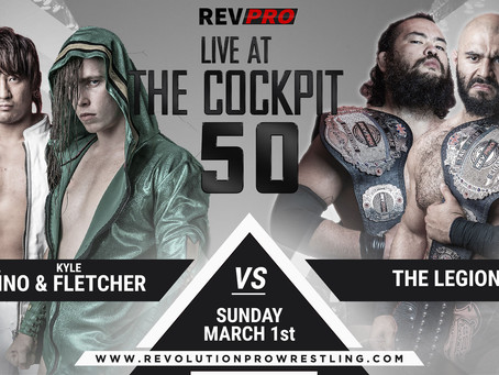 March 1st - London - SHOTA UMINO & KYLE FLETCHER vs THE LEGION - Cockpt Theatre