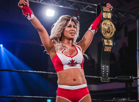 GISELE SHAW - From RevPro Debutant to Undisputed British Women's Champion