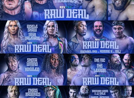 Raw Deal is Now on our Video-On-Demand