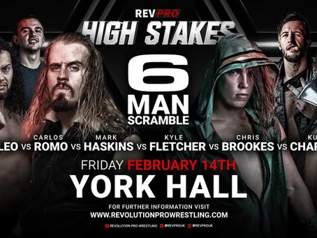 14th Feb - York Hall - 6-man Scramble Match - High Stakes