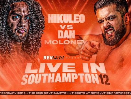 Feb 23rd - The 1865 - HIKULEO vs DAN MOLONEY - Live in Southampton 12
