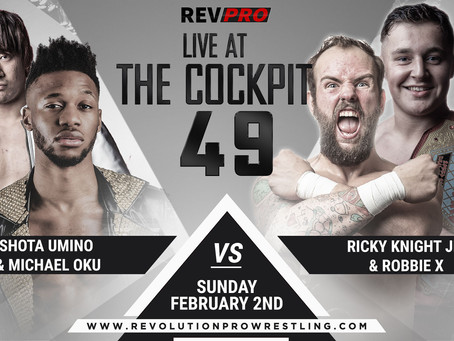 Live at the Cockpit - Feb 2nd - SHOTA UMINO & MICHAEL OKU vs RKJ & ROBBIE X