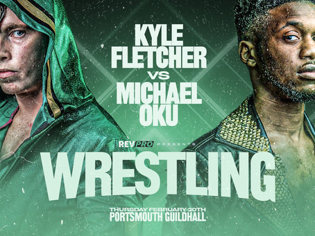 Feb 20th - Portsmouth Guildhall - Two Blockbuster Match Ups - Live At The Portsmouth Guildhall