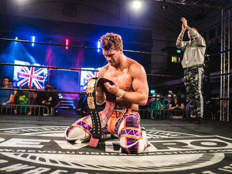 WILL OSPREAY wins the Undisputed British Heavyweight Championship!