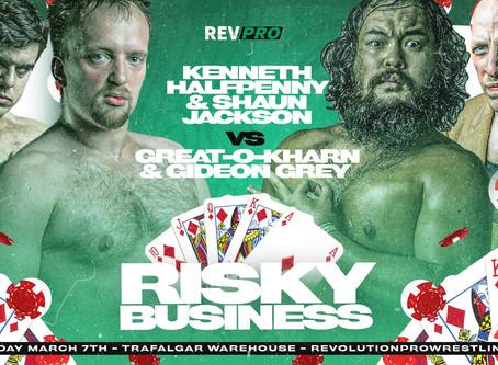 March 7th - Sheffield - JACKSON & HALFPENNY vs O-KHARN & GREY - Trafalgar Warehouse