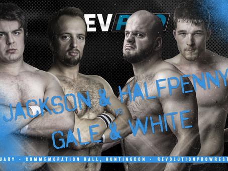 Huntingdon - 25th January - SHAUN JACKSON & KENNETH HALFPENNY vs BRENDAN WHITE & JJ GALE