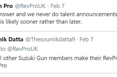Twitter Q&A - 7th February
