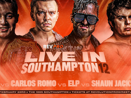 Feb 23rd - Southampton - RKJ vs CARLOS ROMO vs ELP vs SHAUN JACKSON - The 1865
