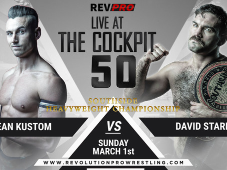 March 1st - London - SEAN KUSTOM vs DAVID STARR - Cockpit Theatre