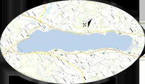 zones du lac de paladru