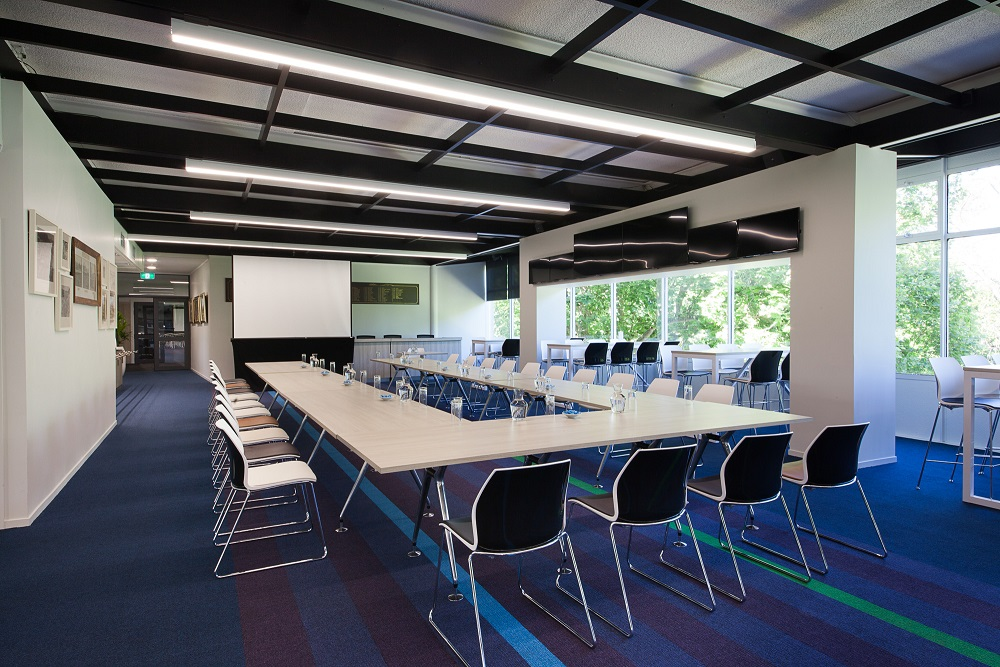 Just one of our many rooms that work well for small business events such as presentations and meetin