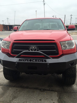 Iron Cross front bumper replacement