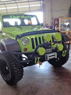 Jeep Wrangler appearance upgrade