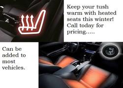 heated seats