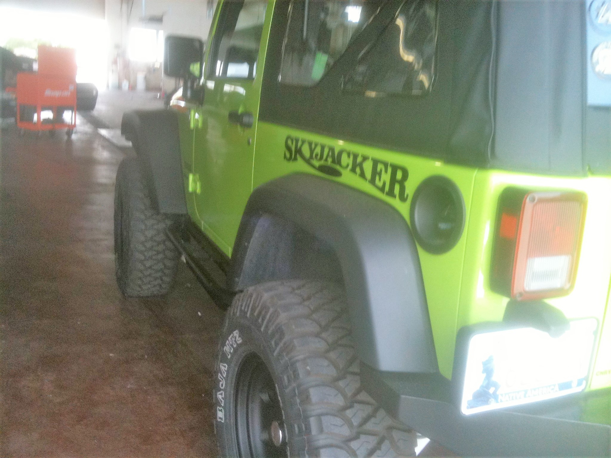 Skyjacker suspension