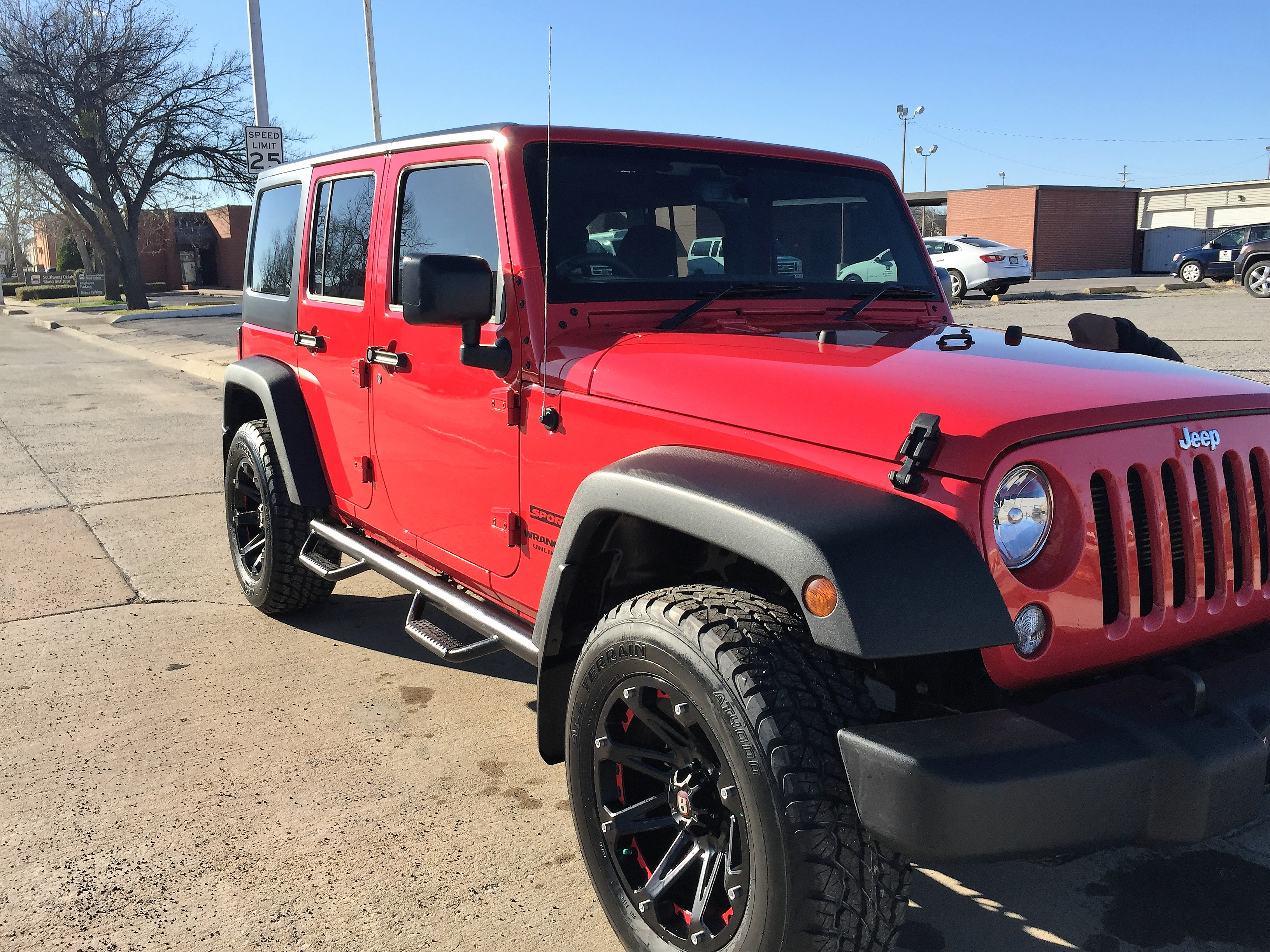 Jeep Wrangler appearance upgrade