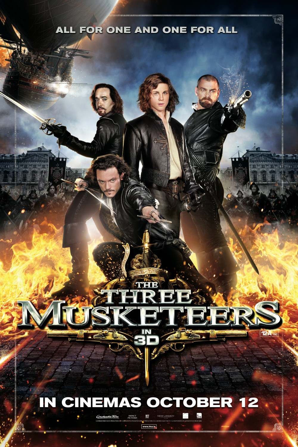 Three Musketeers 3D