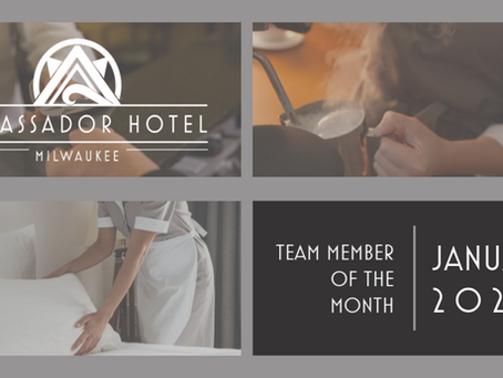 Team Member of the Month  |  January 2020