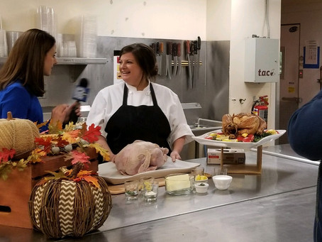 How to Make The Perfect Thanksgiving Turkey & Stuffing with Chef Brittany Greene on WISN 12