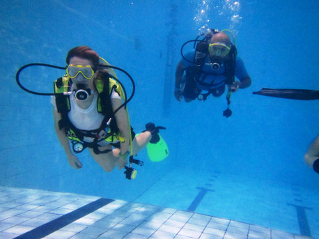 Try Dive session