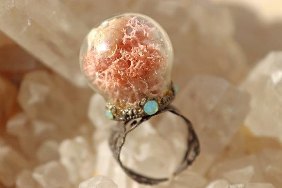 Pink Mermaid's Pixie Ring