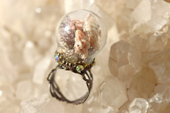 Sea Shell Pixie Ring